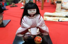 Traditional Japanese dolls exhibition comes back to Hanoi