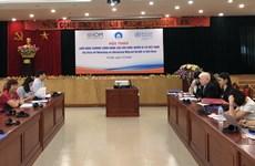 Symposium talks improving migrants' health