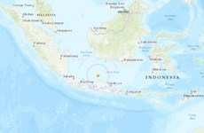 Two earthquakes rock Indonesia