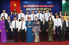 Top legislator lauds Binh Phuoc's efforts to boost economic growth