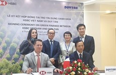 First Vietnamese company receives HSBC green loan