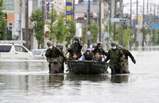 Sympathies to Japan over losses by torrential rains