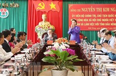 Investment attraction key to Dak Nong's development: NA Chairwoman