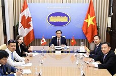 Vietnam, Canada hold deputy foreign ministerial-level political consultation