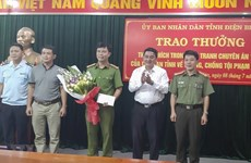 Traffickers of large heroin amount arrested in Dien Bien