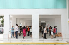 Singaporeans cast ballots in general election