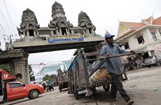 Thailand's border trade down 9.7 percent in five months