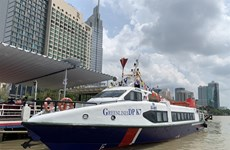 High-speed boat service between HCM City and Binh Duong launched