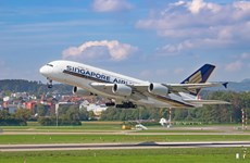 Singapore Airlines plans to operate at 7 pct of capacity in August