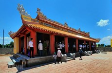 Temple dedicated to King Ham Nghi opens in Quang Tri