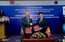 Vietnam, UK boost health cooperation