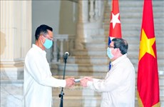 Cuban friendship medal bestowed upon Vietnamese ambassador