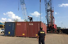 Malaysia: over 1,800 tonnes of toxic waste found abandoned at port