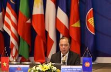 Online meeting talks post-2025 ASEAN Community Vision