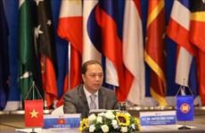 ASEAN Regional Forum Senior Officials Meeting held via video conference