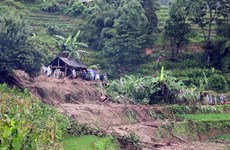 Flooding kills two in northern Ha Giang province
