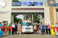 US firms present medical supplies to HCM City