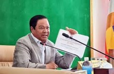 Cambodia launches disaster information-sharing system