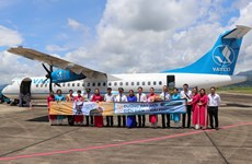 Vietnam Airlines launches Dien Bien - Hai Phong flights