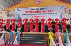 2020 Vietbuild International Exhibition opens in Can Tho