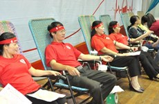 Voluntary blood donation campaign spreads nationwide
