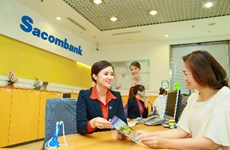 Sacombank profit reaches 61.7 million USD in first half