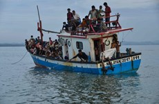 At least 24 Rohingya migrants feared drowned off Malaysian coast