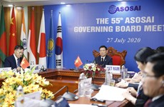 ASOSAI Governing Board holds 55th meeting online