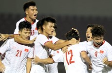 Vietnamese U19 team to compete in AFC U19 champs