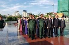 Fallen Vietnamese volunteer soldiers commemorated in Cambodia