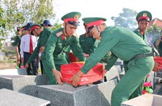 Memorial services for fallen soldiers held