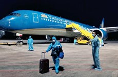 More than 280 Vietnamese return home from US