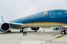 Vietnam Airlines' flight carries stranded citizens in Equatorial Guinea home