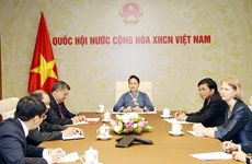 Top legislators of Vietnam, New Zealand hold online talks