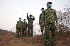 Border guard force resolves to stop illegal entry into Vietnam