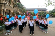 Vietnamese-Lao bilingual school in Laos wraps up 2019-20 academic year