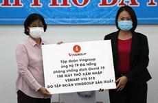 Businesses support Da Nang combat COVID-19