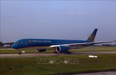 Vietnam Airlines adjusts flight schedules due to storm Sinlaku