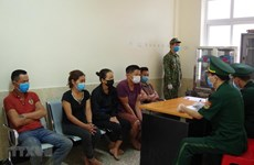 Vietnamese, Chinese arrested for illegal entry