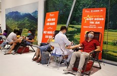 Red Journey draws thousands of blood donors in Hanoi