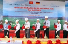 Thai firms acquire wind power farm in Ninh Thuan