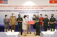 Vietnam receives medicine from Cuba to fight COVID-19