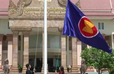 Cambodia hoists flag to mark 53rd anniversary of ASEAN