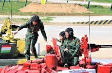 Send-off ceremony held for Vietnamese delegation to Int'l Army Games