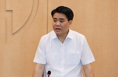 Chairman of Hanoi People's Committee suspended from work
