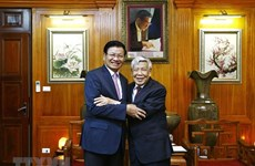 Former Lao leader commends former Party chief Le Kha Phieu's contributions to bilateral ties