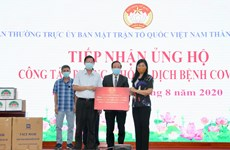 Businesses, organisations lend support to Hanoi in COVID-19 fight