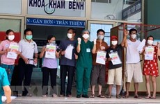 Ten more patients in Da Nang recover from COVID-19