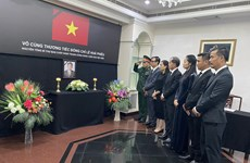 Vietnamese embassies in Brunei, Bangladesh hold services for former Party leader