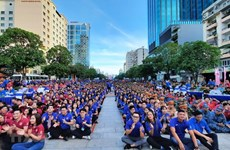 HCM City's summer volunteer youth campaign enters final day